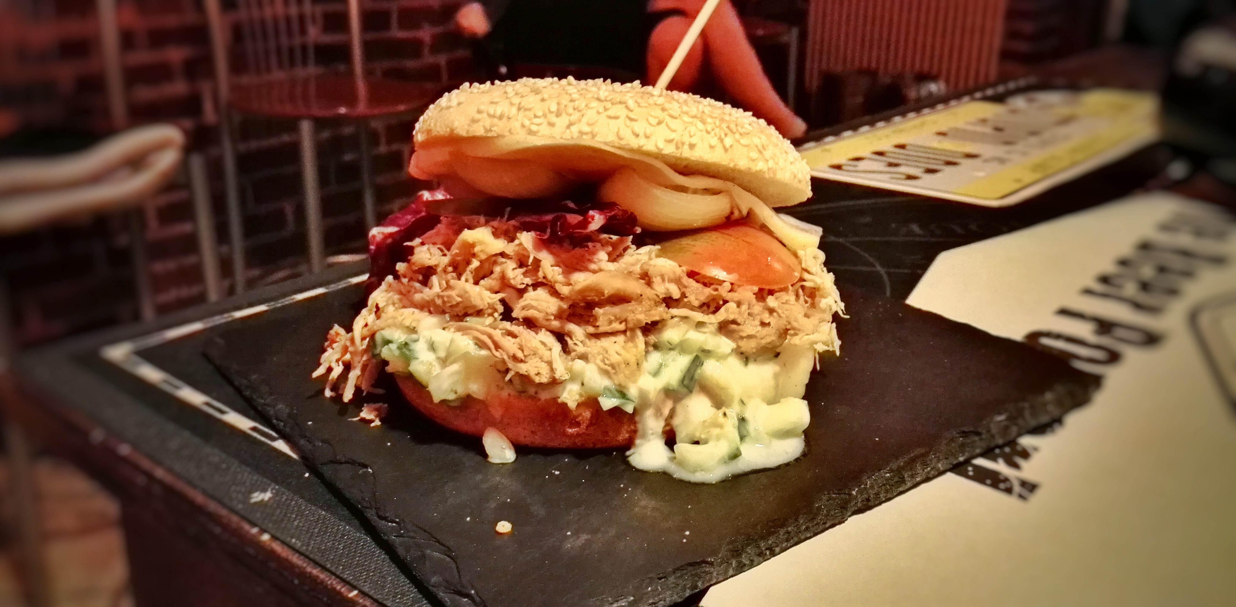 Pulled Pork Sandwich, THe White Flag Edtion